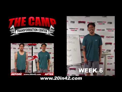 Chino Hills Weight Loss Fitness 6 Week Challenge Results - Wesley Africa