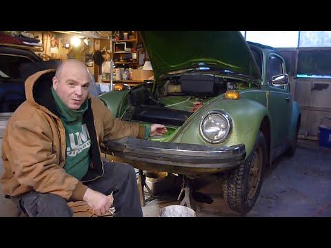 VW BUG FUEL TANK REMOVAL (project GOV BUG) SHORT VID