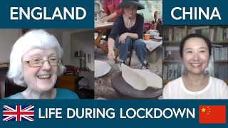 Comparing life during lockdown in China & England