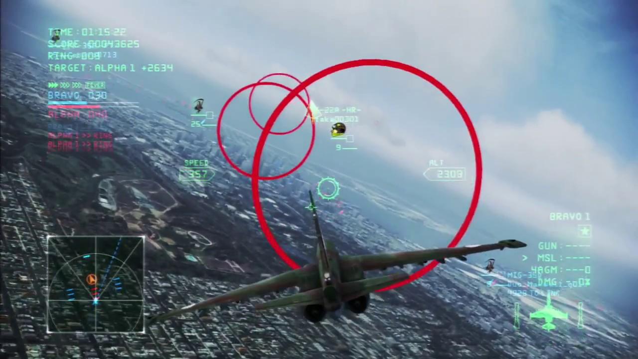 Ace Combat Infinity Ring Battle