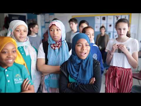 Cousins in the Classroom - Pressman and Islah Academy