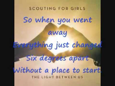 Scouting For Girls - Six Degrees with lyrics Travel Video