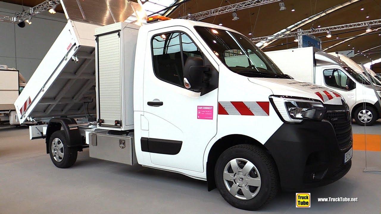 2020 Renault Master Tipper – Exterior Interior Walkaround – 2019 Nufam Karlsruhe