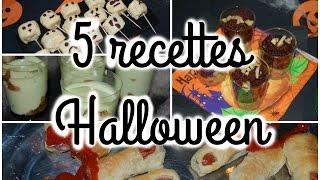 [ Cuisine N°10 ] : 5 recettes terrifiantes pour Halloween