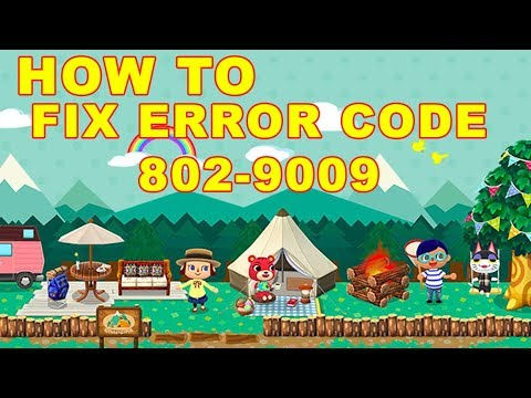 Animal Crossing Pocket Camp: How to Fix Error Code 802-9009