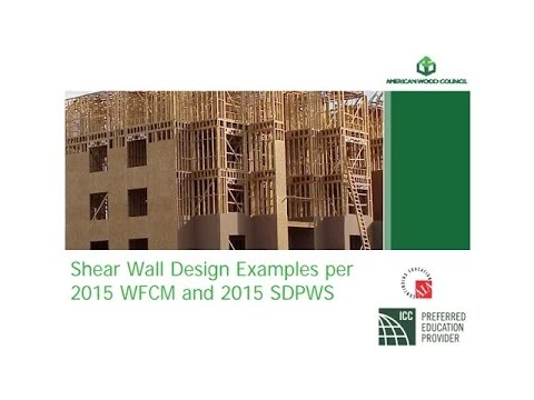 Des413 2 Wind Shear Wall Design Examples Per 2015 Wfcm And