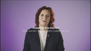 Anastasiia Yeva Domani: How a transgender woman in Ukraine fought for her rights
