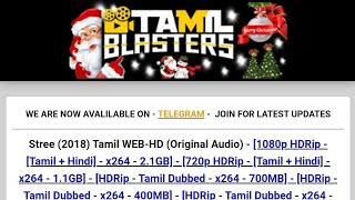 Alternative Website for Tamilrockers.... And other unblocked proxy sites...