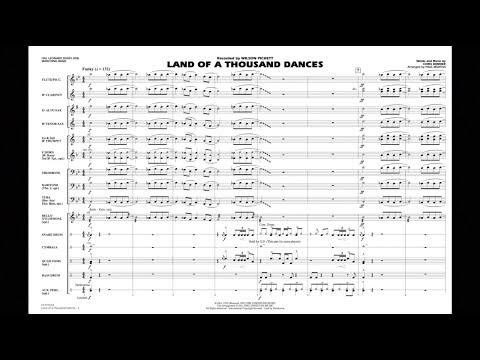 Land of a Thousand Dances by Chris Kenner/arr. Paul Murtha