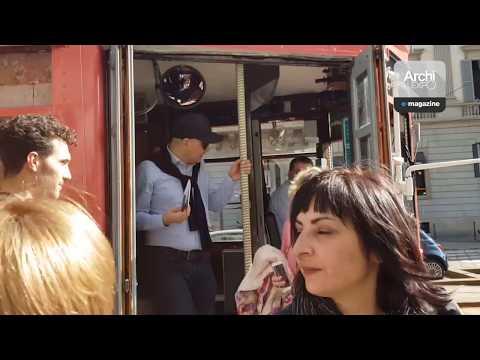 TOUR. Corello Tram by Designer and Architect Cristina Celestino