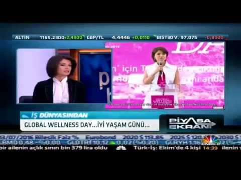 Global Wellness Day at CNBC-e 27.10.2015