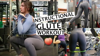 Full INSTRUCTIONAL Leg Day |Glutes & Hamstrings Workout|