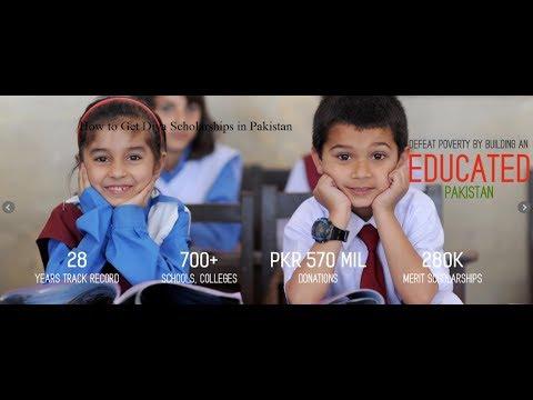 How to Get Diya Scholarships in Pakistan