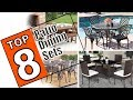 🌻 8 Beautiful Patio Dining Sets Reviewed - Best Outdoor Dining Set 2019