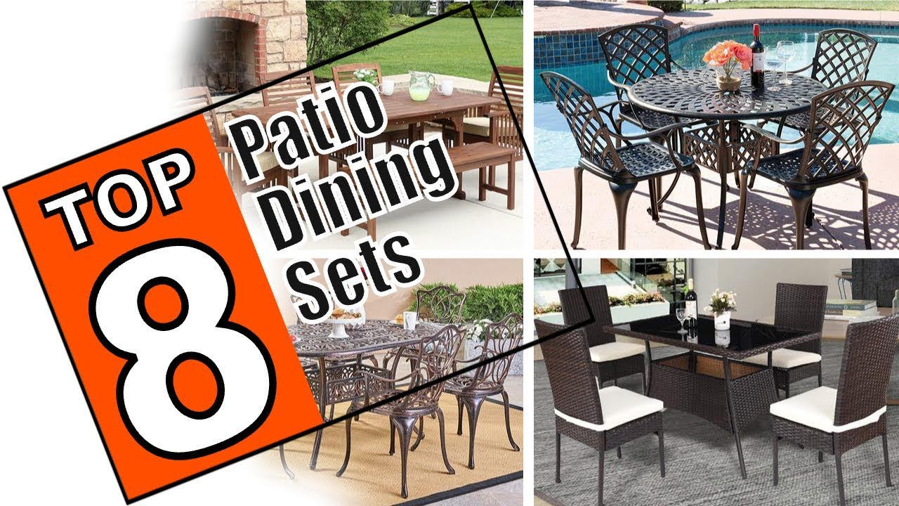 Patio Dining Sets Reviewed