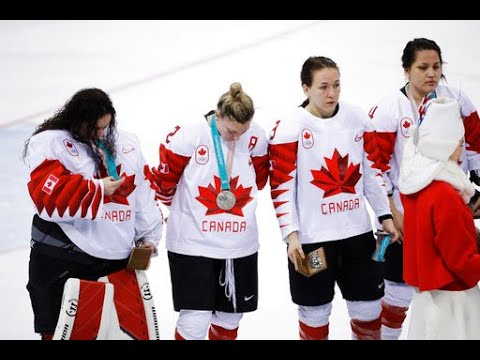 Team Canada hockey player refuses to wear silver medal