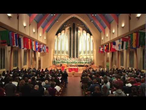 """St. Olaf Cantorei and Congregation - """"Abide With Me"""" (EVENTIDE)"""