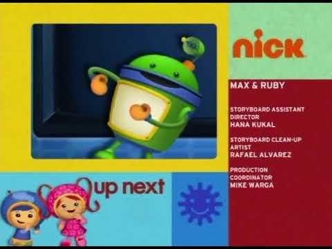 Nick Playdate Spilt Screen Credits (May 10, 2010) #2