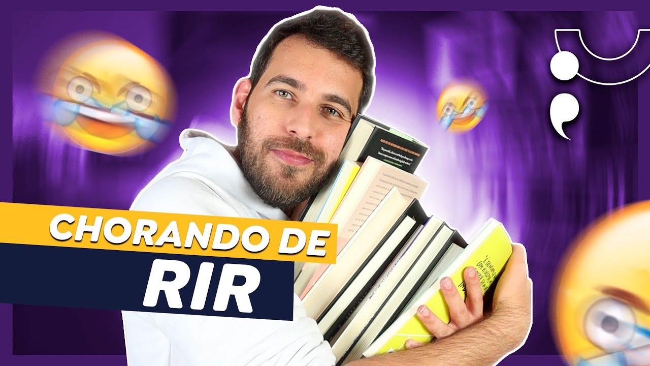 LIVROS PARA GRITAR DE RIR!
