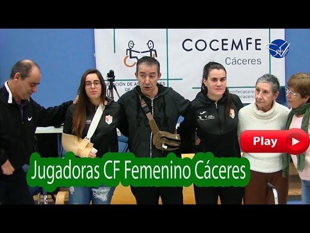 NUESTRA VOZ - Jugadoras CF Femenino Cáceres