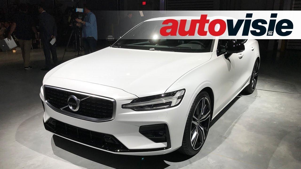 Onthuld: Volvo S60 (2019) Eerste indruk - YouTube