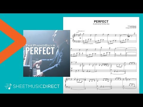 Perfect Sheet Music - Arr. The Piano Guys - Piano Solo