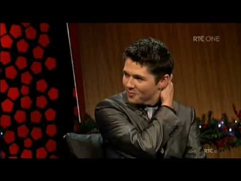 Damian McGinty on 'The Late Late ' 23 Dec 2011