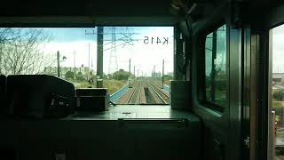 (前方展望) 佐貫(特急通過待ち)→藤代、普通上り、E531系、Max87km/hr、平均45km/hr。バイノーラル録音+αMk2.1