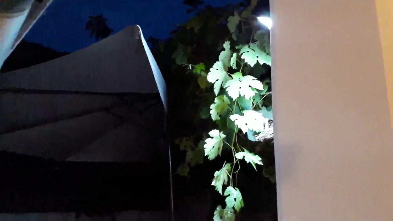 Aglaia Focos Led Exterior 38 Led Luz Solares Con Sensor De