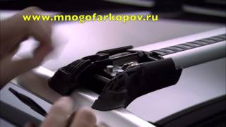 Багажник на рейлинги Thule WingBar Edge 958 (обзор, установка)