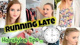 Running Late For School⎜Quick Hairstyles, Tips + More! Thumbnail
