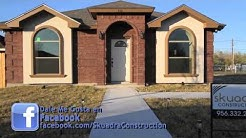 New home in Pharr Texas build and designed by Skuadra Construction - 412 Seminole Ave, Pharr, TX