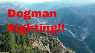 Dogman sighting!! Live in the Squatch Zone!!! June 22 2018