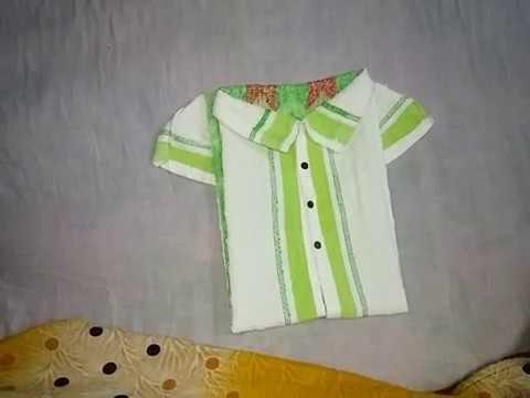 easy-way-to-create-shirt-using-towel-|-wedding-tray-decoration-|-towel-art-tutorial