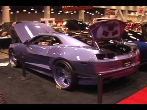 Custom Widebody 2010 Chevy Camaro With 24 Quot Tis Wheels