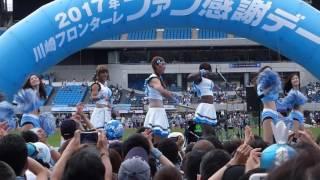 2017/07/23 川崎フロンターレ ファン感 □安藤駿介、タビナス・ジェファ...