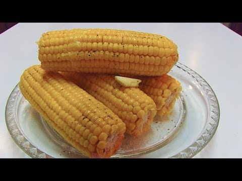 How long do you cook fresh corn on the cob in microwave