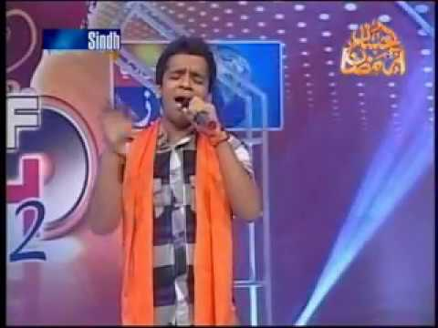 Sonu Kumar Singing Sun Charkhe Di Mithi ghook Voice of Sindh