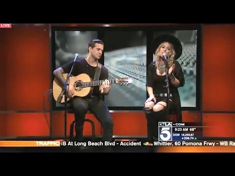 BC Jean & Mark Ballas - Roses & Violets - Live On KTLA