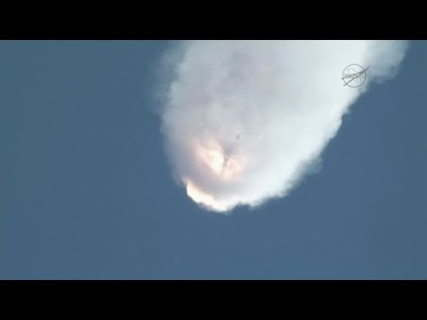 Unmanned SpaceX rocket explodes after liftoff