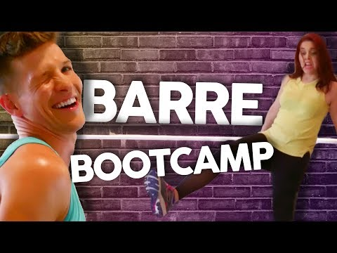 Sgt Sparkles' Sassy Barre Bootcamp! (Get Jacked)