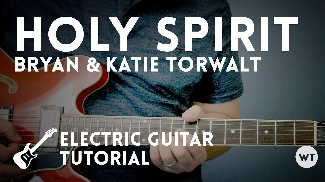 how to play holy spirit on guitar