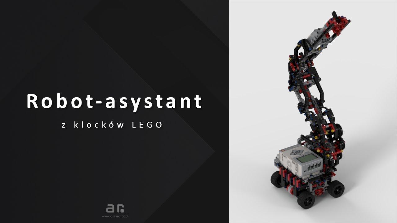 Robot-asystent z klocków LEGO