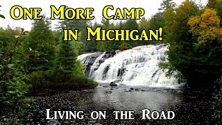 One More Camp in Michigan - Living on the Road