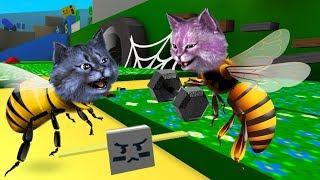 ЛАНА ТРЕНИРУЕТ ПЧЁЛ  СИМУЛЯТОР ПЧЕЛОВОДА в РОБЛОКС  Bee Swarm Simulator ROBLOX