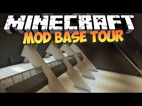 The ULTIMATE Modded Minecraft Base Tour