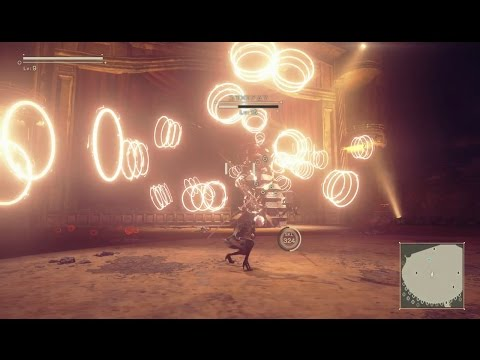 NieR Automata - Beauvoir [very hard] (LV9, no taunt/items/chips)