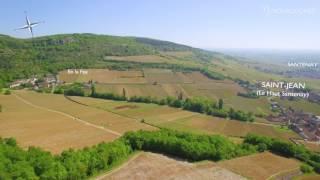 L'appellation Santenay décryptée par sa géographie et sa géologie