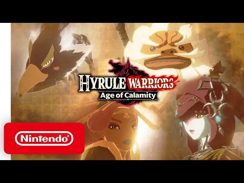 New Hyrule Warriors Age Of Calamity Gameplay Trailer Showcases The Four Champions Kakuchopurei Com