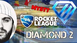 Rocket League : Türkçe - (2v2) Diamond 2 Serilerine Devam || & MysTT